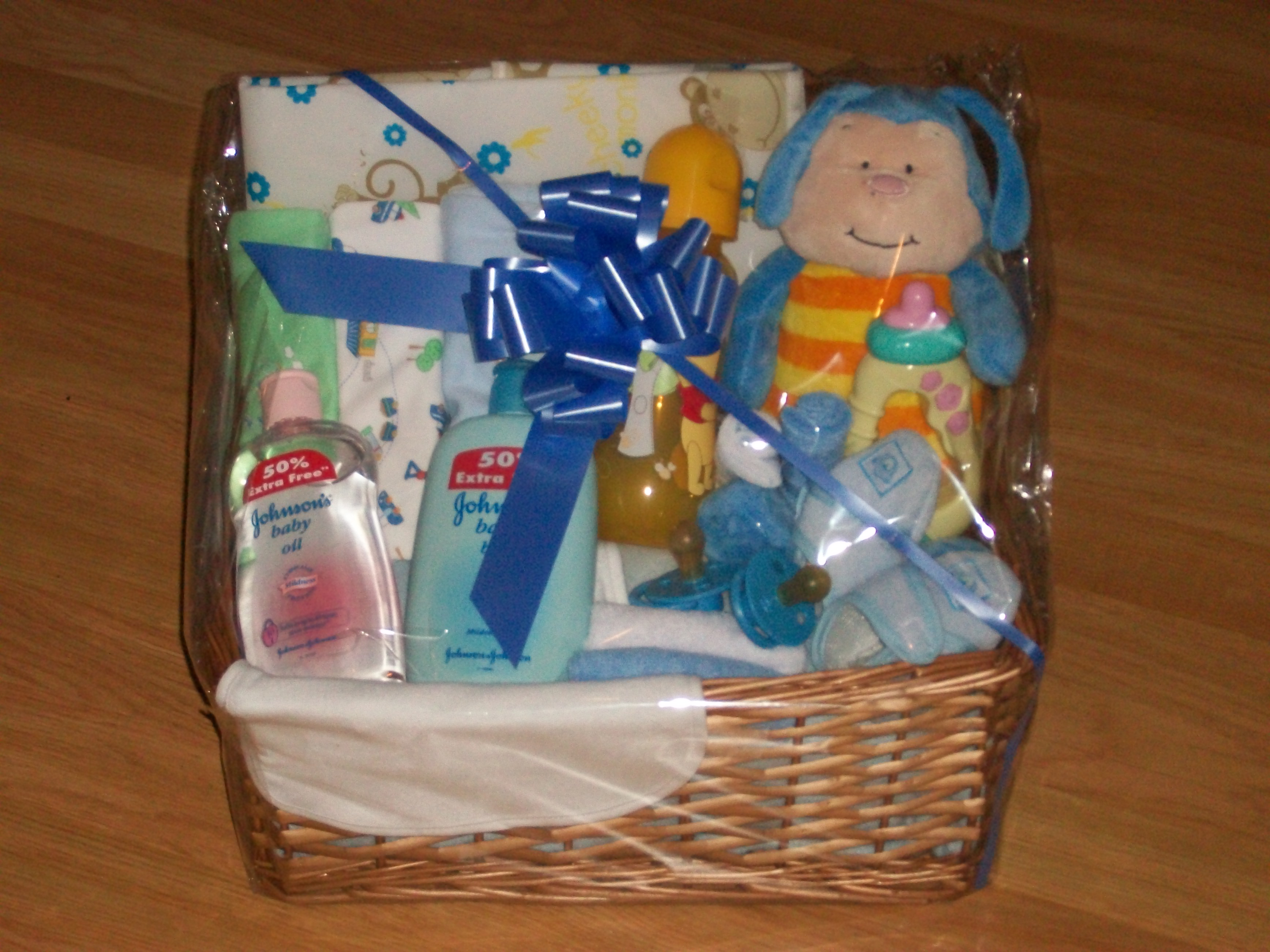 New Baby Boy Gifts For Delivery : Large newborn baby boy ? pamper hampers belfast